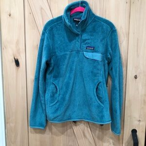 Patagonia Re Tool Snap T Fleece Pullover Size M